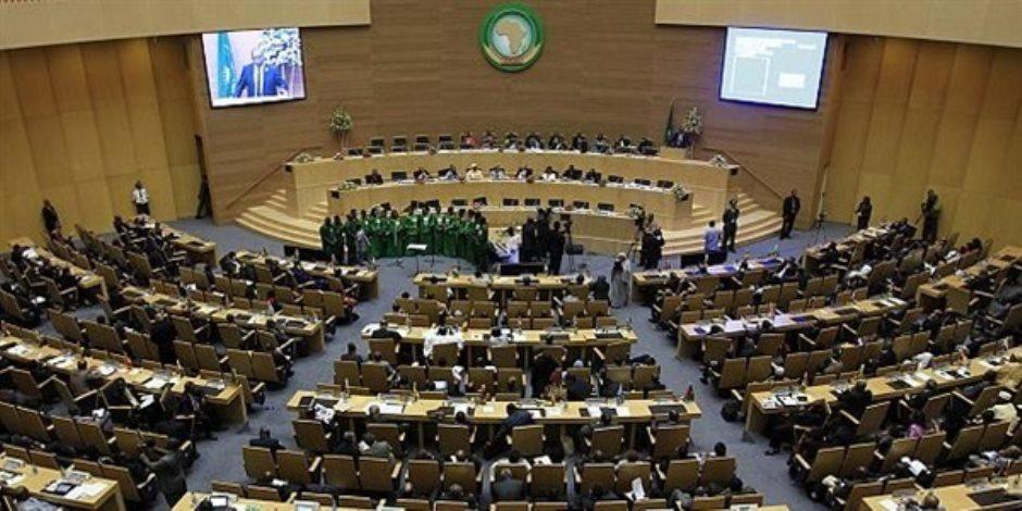 سفير مصر بجنوب أفريقيا يلتقى أعضاء مجلس النواب خلال زيارتهم لبريتوريا