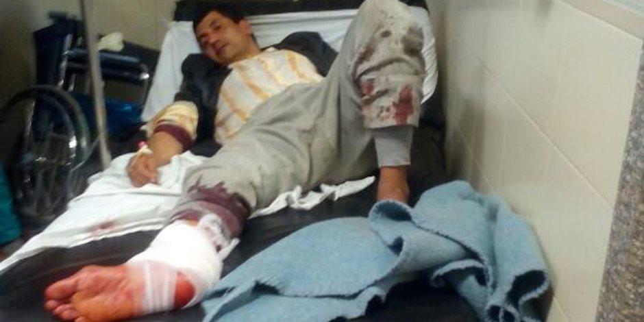 درويش : يدين الحادث الارهابى بالكنيستين مصر ستبقى آمنة