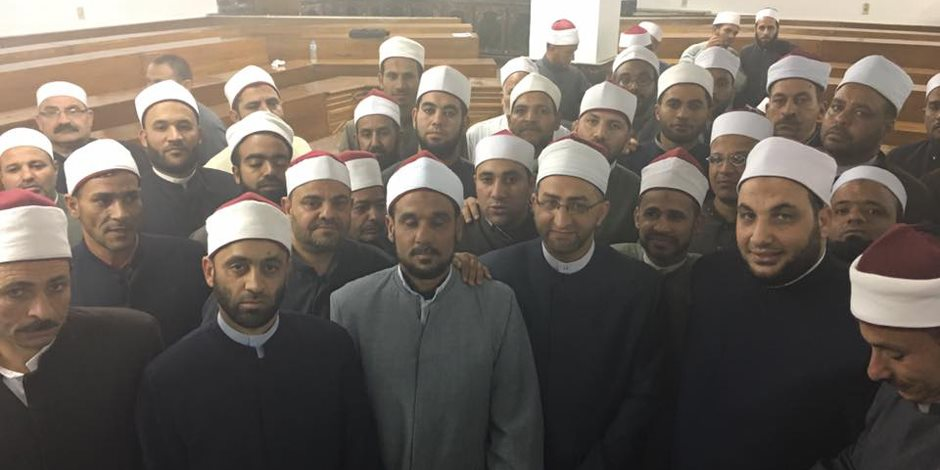 «أئمة مصر» يؤكدون دعمهم للدولة في مواجهة الإرهاب والرد على التطرف بالحجة (فيديو)