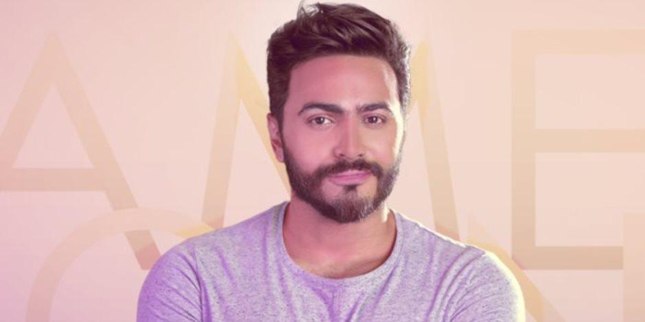 """تامر حسني يتصدر التريند بعد لقاء المعجبة والبلوجر """" آية مكرم"""" (فيديو)"""