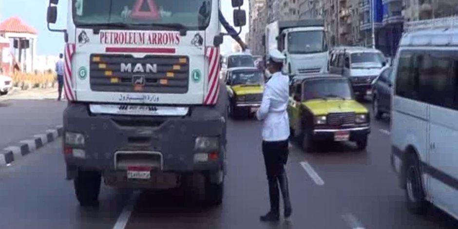 مرور الإسكندرية تحرر 2266 مخالفة متنوعة في 24 ساعة