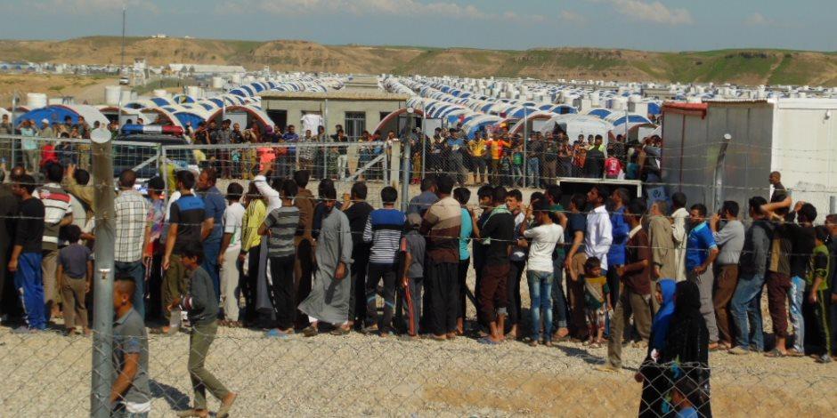 مفوضية اللاجئين: تدفق كبير للنازحين من الموصل بعد الهجوم على داعش