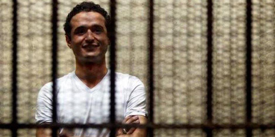 """تأجيل إعادة محاكمة أحمد دومة فى """"أحداث مجلس الوزراء"""" لـ 3 يونيو"""