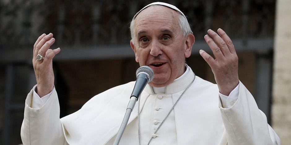 لماذا شعر البابا فرانسيس بالخجل عند وصف لفظ «الأم» للقنبلة؟