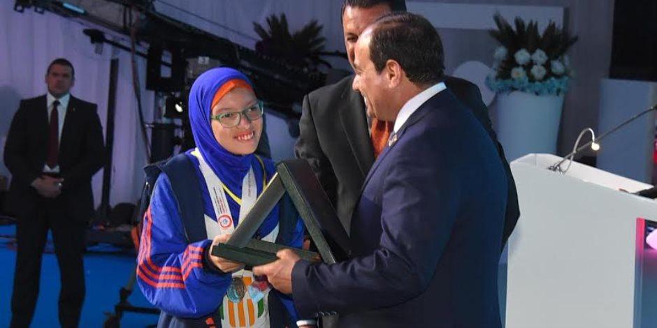 رئيس الأولمبياد الخاص: تكريم الرئيس السيسي وسام على صدر 3 مليون معاق