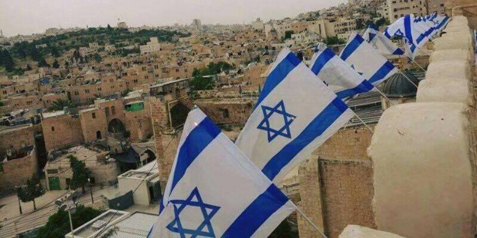 النجمة السداسية على علم اسرائيل