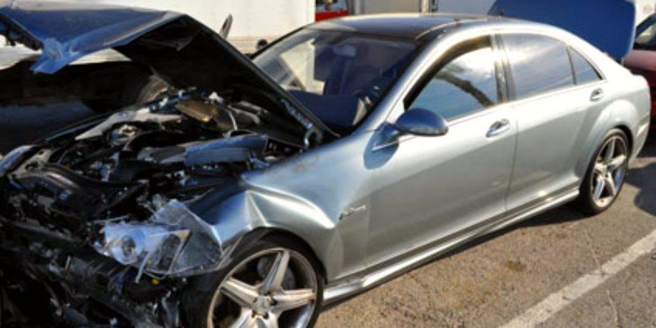 مصرع طفل في حادث تصادم بين سيارة ملاكي وتوكتوك بدمياط