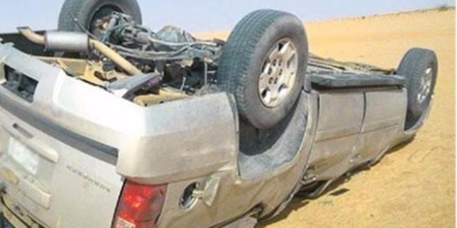 مصرع شخصين وإصابة آخرين في حادث تصادم بكفر الشيخ