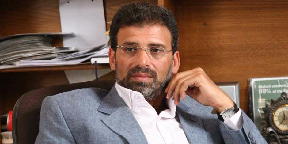 خالد يوسف: عمرو سعد لو اتكلم في السياسة تاني هضربه