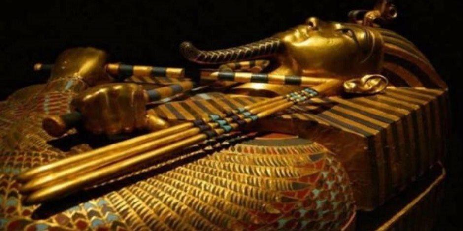 وفد الإعلاميين الأفارقة يشيد بروعة مجموعة توت عنخ آمون بالمتحف المصرى