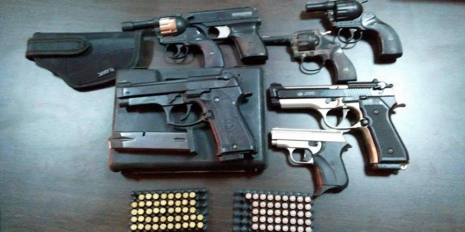 مباحث البساتين تداهم ورشة لتصنيع الاسلحة