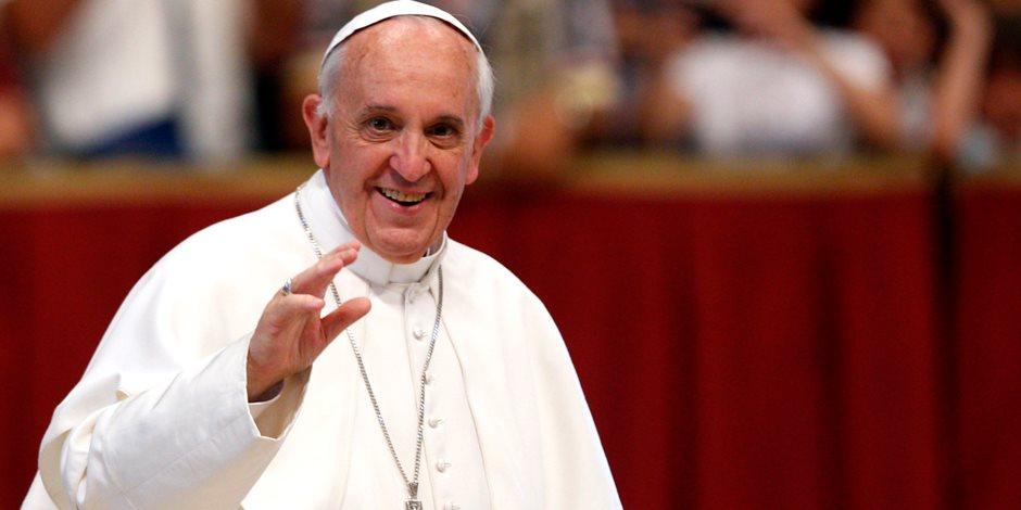 البابا يبدى انزعاجه الشديد لعدم وجود جهود لإحلال السلام فى سوريا