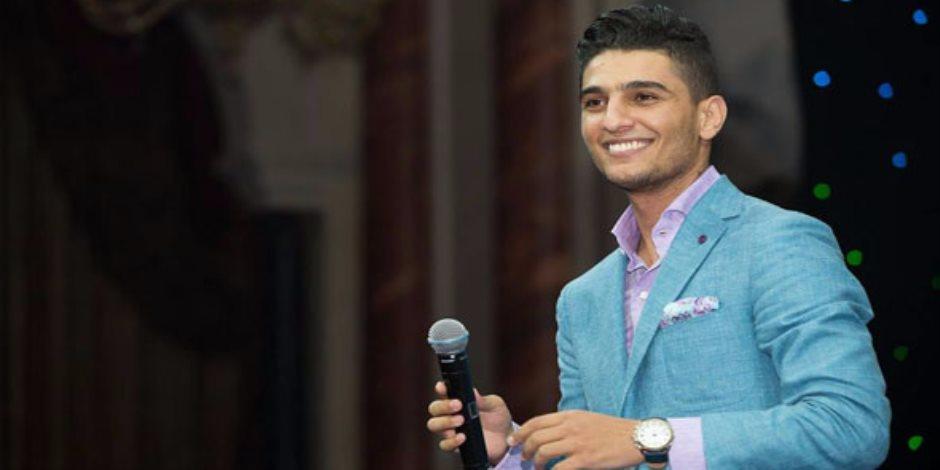 بروفات محمد عساف استعدادا لحفلة اليوم في دار الأوبرا (فيديو)