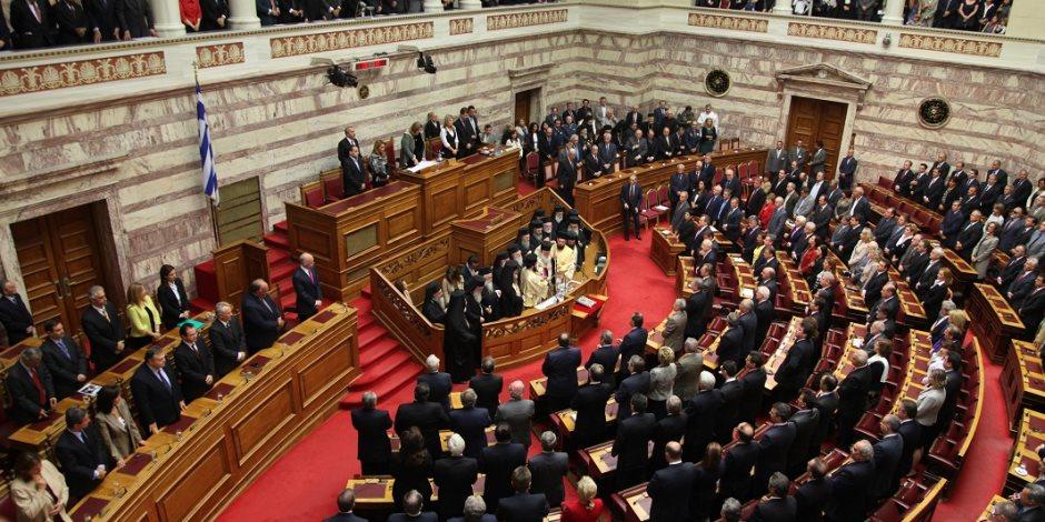 ماذا قال عبدالعال في الاجتماع الثلاثي الأول لرؤساء برلمانات مصر وقبرص واليونان؟ (صور)