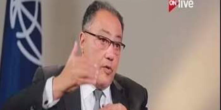 نائب رئيس البنك الدولي يؤكد الحرص على دعم مصر في قطاعي التعليم والنقل