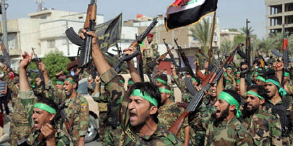 قوات الحشد الشعبي العراقي تحرر قاعدة جوية من مسلحي داعش