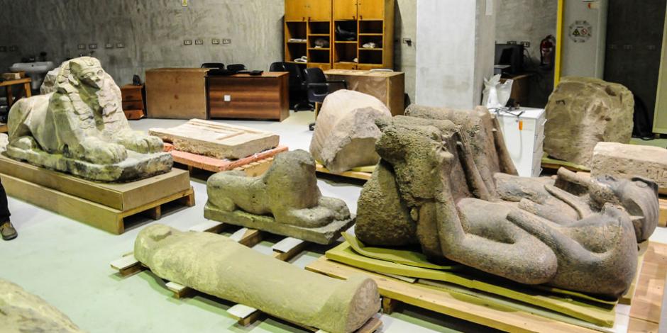 سقوط عصابات تهريب الآثار الفرعونية في 3 محافظات