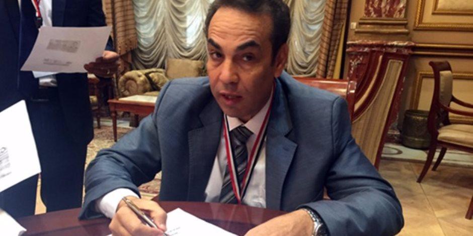 """ثروت بخيت: مشروعات قوانين الحكومة تعرض على """"دعم مصر"""" قبل البرلمان"""