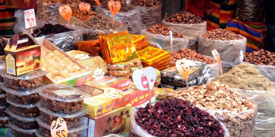 الركود يسيطر على أسواق الياميش بالإسكندرية ( صور )