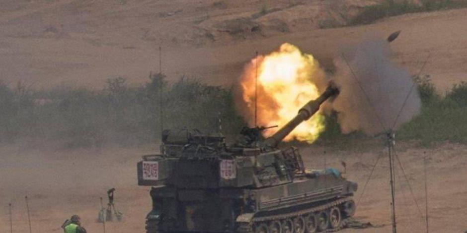 مقتل جندى بجيش كوريا الجنوبية وإصابة 6 خلال تدريب على المدفعية