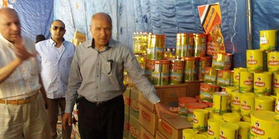 مدير أمن الدقهلية يفتتح منافذ بيع سلع رمضانية مخفضة