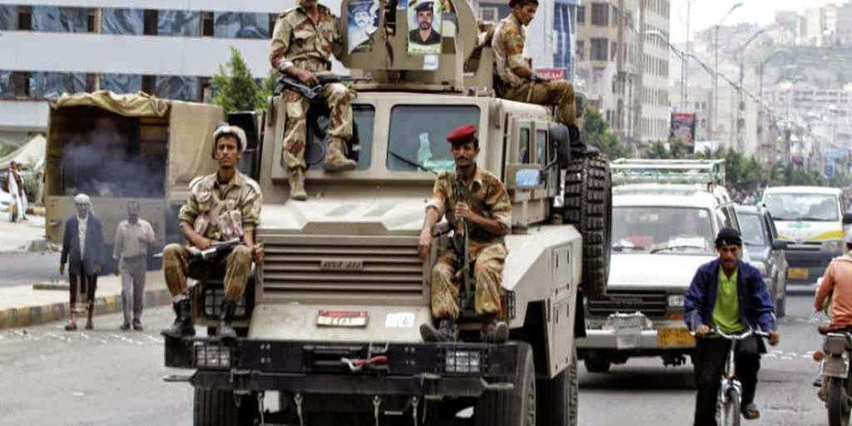 ضاعت فلوسك يا إيران.. شاهد ضربة قاسية من الجيش اليمني للحوثيين بالصوت والصورة