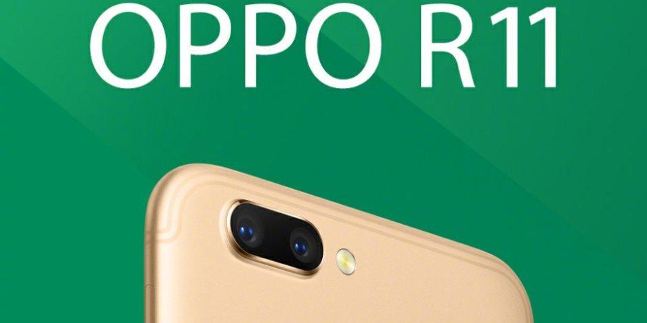 هاتف Oppo الذكي الجديد R11 يصل تايوان ثم إلى باقى دول العالم