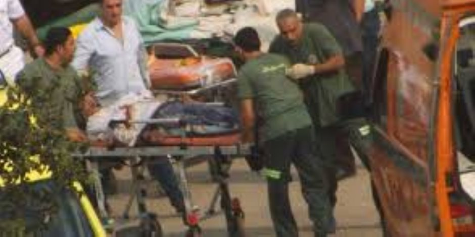 إصابة 12 شخصا في حادث انقلاب أتوبيس بالشرقية