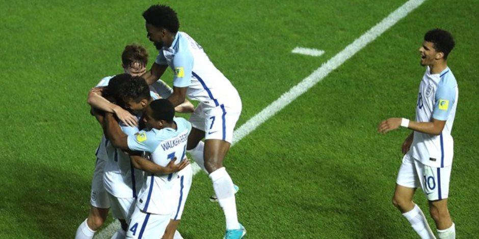 إنجلترا تهزم كوستاريكا 2 / 1 وتتأهل لربع نهائي مونديال الشباب