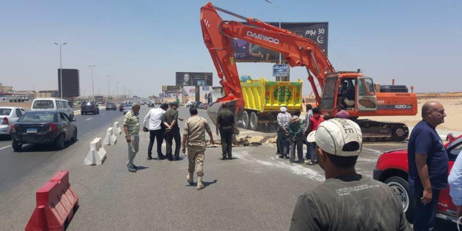 مرور القاهرة ترفع السيارات والدراجات النارية بمحيط اللجان