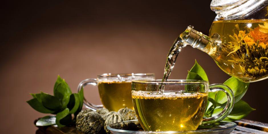 الشاى الأخضر فى فصل الصيف بيحافظ على ترطيب الجسم وحمايته من الأمراض