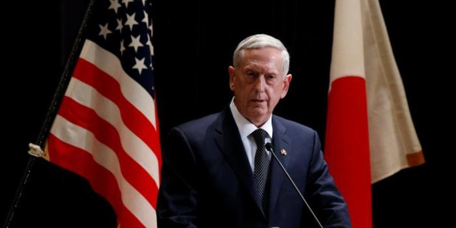 ماتيس: أمريكا تعمل على ضمان عدم تصاعد التوتر حول كركوك
