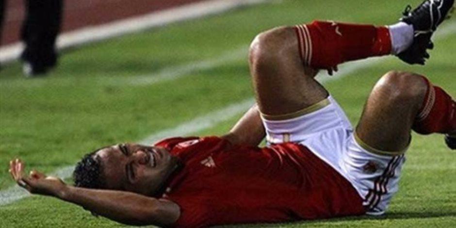 إصابة وليد سليمان.. غادر المستشفى بعد ارتجاج المخ وفقد الذاكرة المؤقت