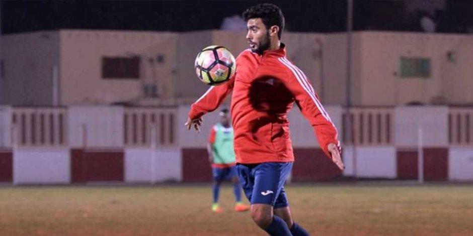 أحمد مجدي يحصل علي راحة أسبوع من تدريبات الزمالك