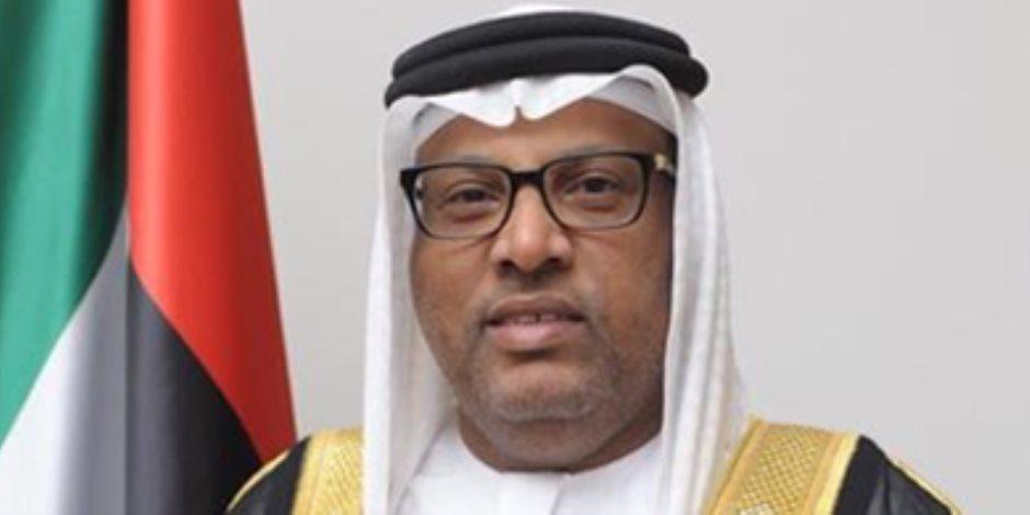 سفير الإمارات في القاهرة لـ«صوت الأمة»: مصر تشهد تطور ملحوظ