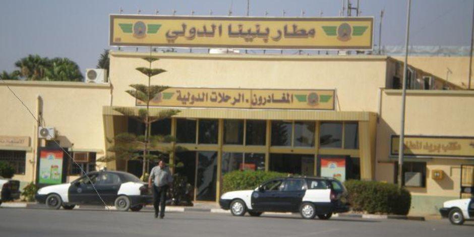 إقلاع أول طائرة مدنية من مطار بنينا الليبي بعد توقف 3 سنوات