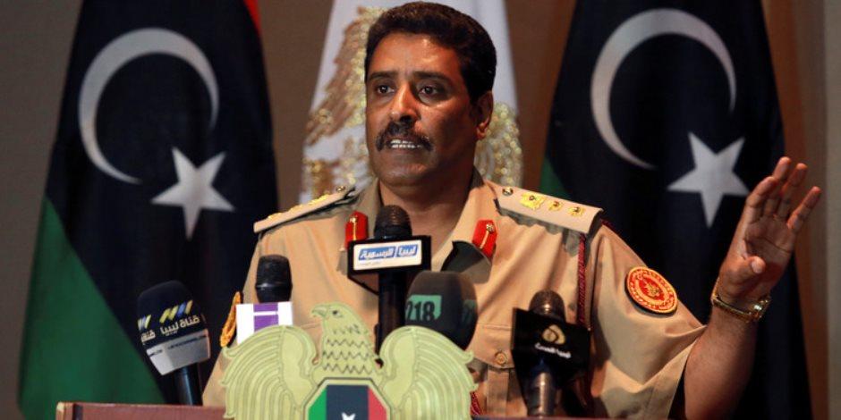 المسمارى: قطر أكبر داعم للإرهاب وتسعى لتقويض مخرجات العسكريين فى جنيف