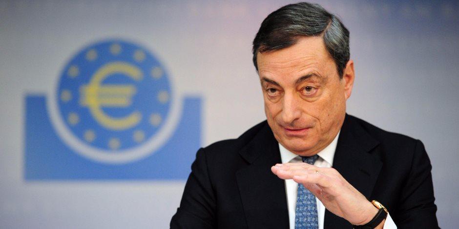 ماريو دراجي يفتح الباب أمام تعديل سياسة المركزي الأوروبي مع تعافي الاقتصاد