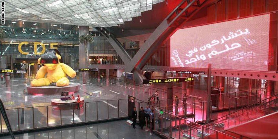 نشطاء يسخرون من خلو مطار الدوحة: زحمة يادنيا زحمة