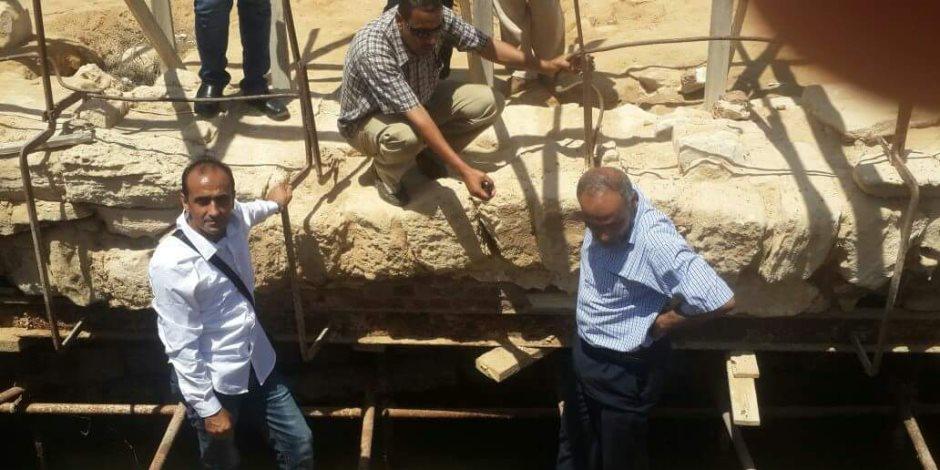 رئيس قطاع الآثار الإسلامية والقبطية يزور آثار أبو مينا في الإسكندرية (صور)