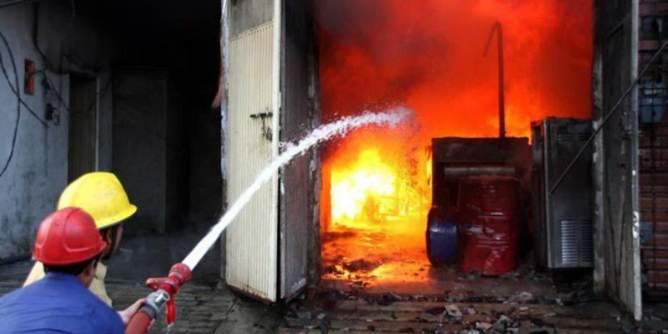 السيطرة على حريق شقة سكنية في عين شمس