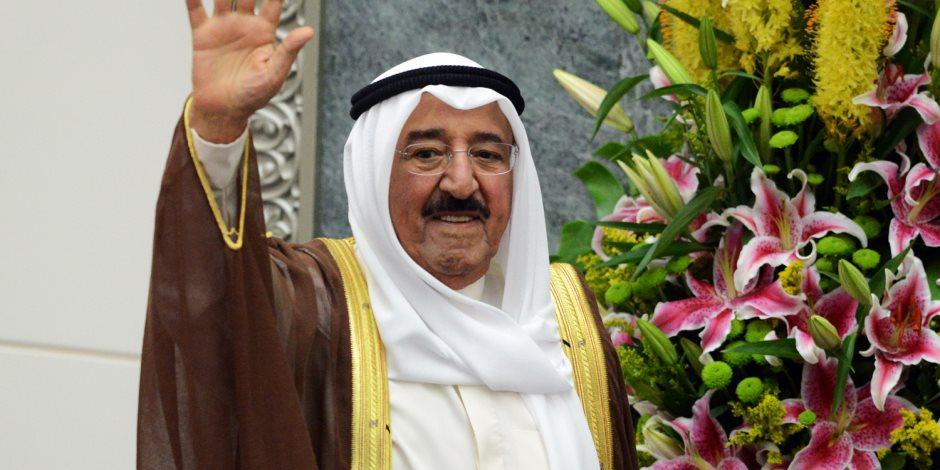 أمير الكويت يجدد تهانيه للسيسي في القمة العربية بالظهران