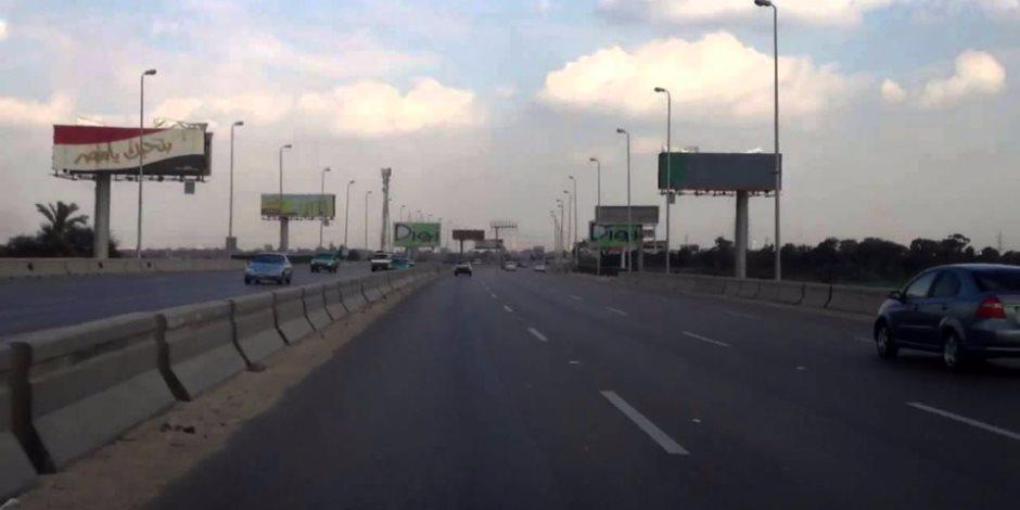 بعد الشبورة.. فتح طريق إسكندرية الصحراوي وانتظام حركة السيارات