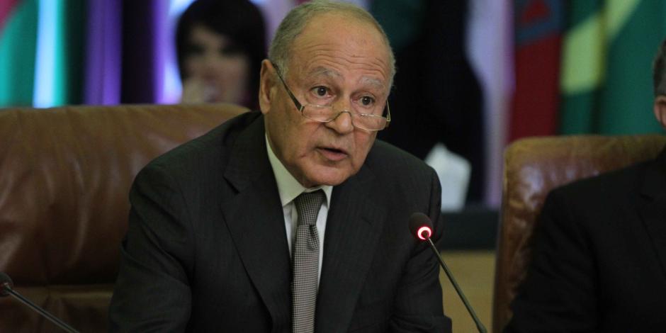 أبو الغيط لوزراء الخارجية العرب: العدوان التركى يهدف إلى اقتطاع جزء من الأراضى السورية