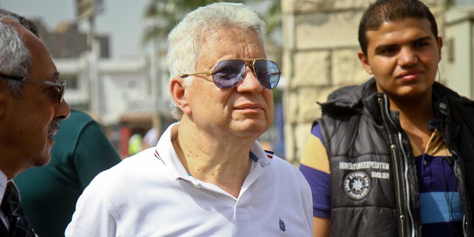 رئيس الزمالك يوكل محامين للتنازل عن قضاياه ضد الوايت نايتس (صور)