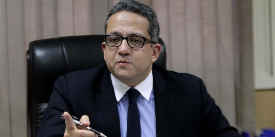 خالد العناني: نوقع اتفاقيات مع الدول العربية لمنع تهريب الآثار
