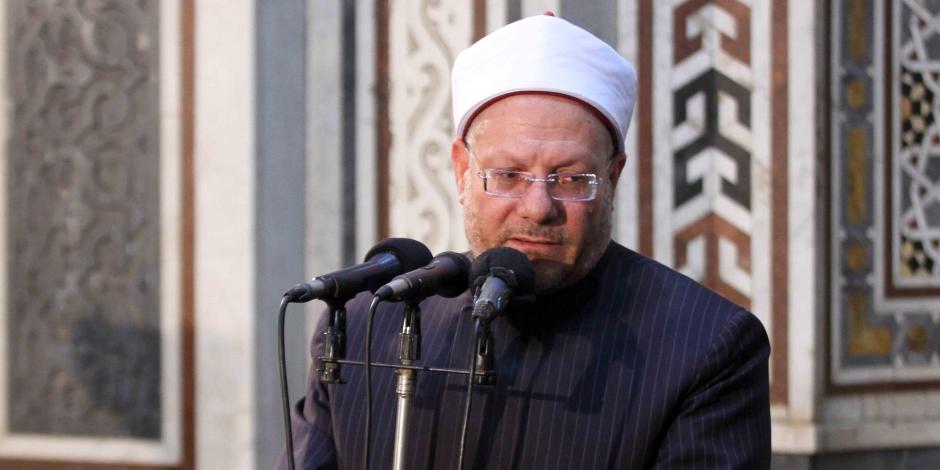 """مفتي الجمهورية يدين العملية الإرهابية بأحد مساجد """"هرات"""" الأفغانية"""