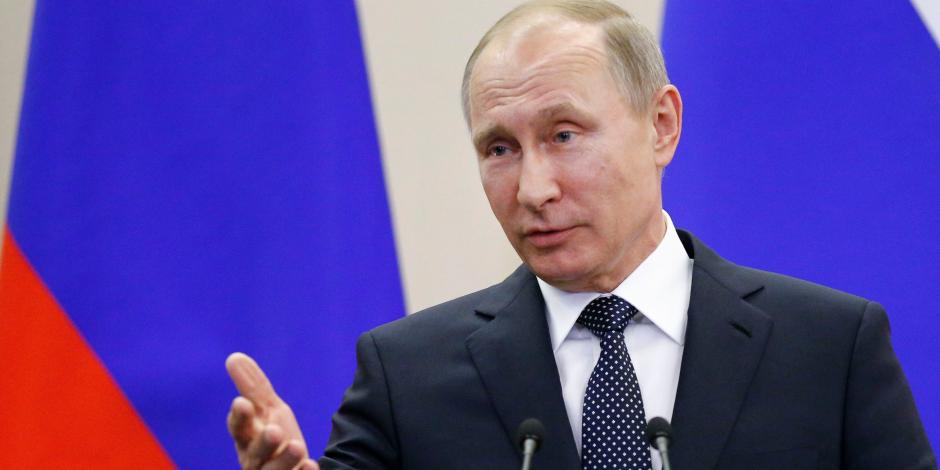 بوتين وماكرون ناقشا الوضع فى سوريا عبر الهاتف