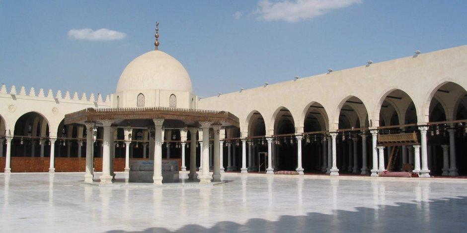 الأحد.. أول صلاة تراويح من مسجد عمر بن العاص.. والحضور بشروط
