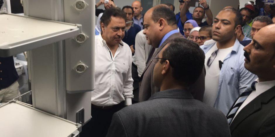 بتكلفة 200 مليون جنيه.. وزير الصحة يتفقد مستشفى النجيلة في مطروح